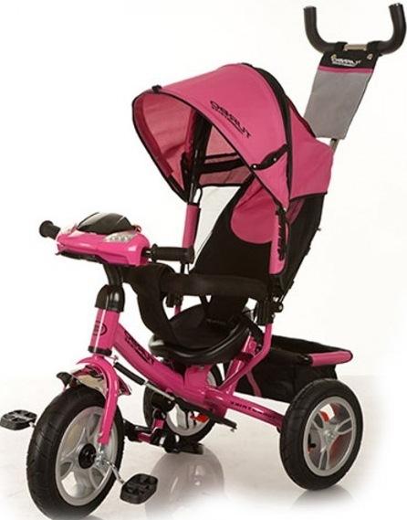 Велосипед трехколесный Turbo Trike M 3115-6HA Розовый