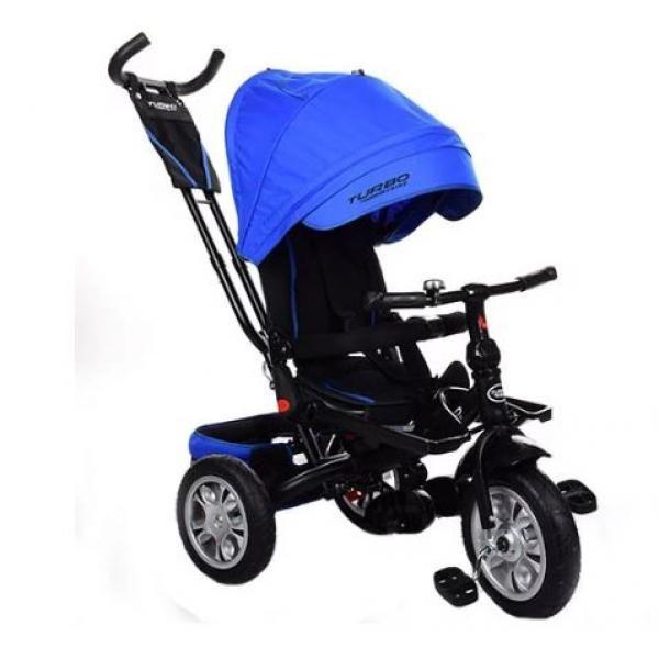 Детский трехколесный велосипед Turbo Trike M 3646A-10 Blue