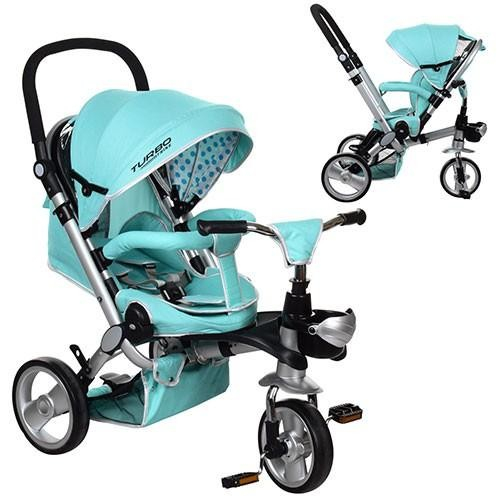 Детский трехколесный велосипед Turbo Trike M AL3645-14 Mint