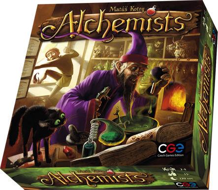 Настольная игра GaGa Games Алхимики (CGE00027)