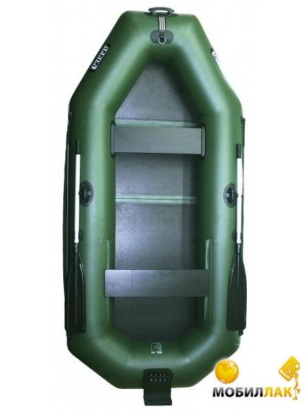 Надувная лодка Ладья ЛТ-270-БВ со слань-книжкой