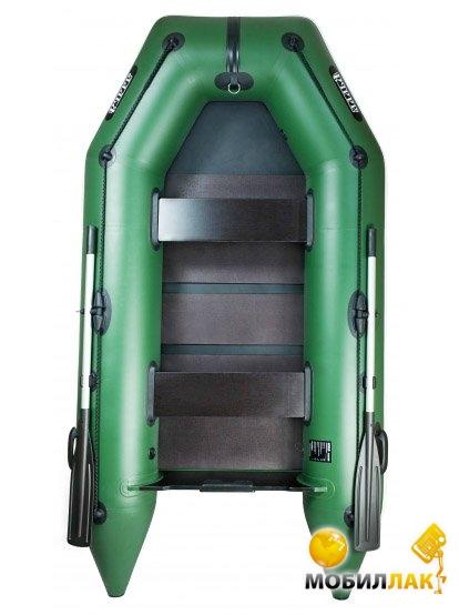 Надувная лодка Ладья ЛТ-290МВ со слань-книжкой