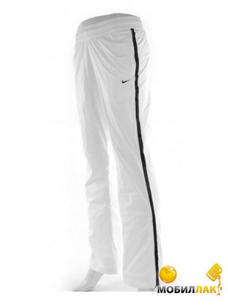 Спортивные штаны женские Nike Border Woven white/black (L)