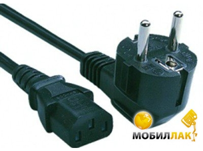 Кабель ATcom Power Supply Cable CEE 7/7 - IEC C13 3m