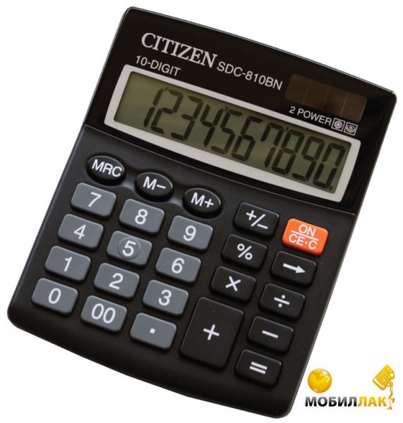 Калькулятор Citizen SDC-810BN