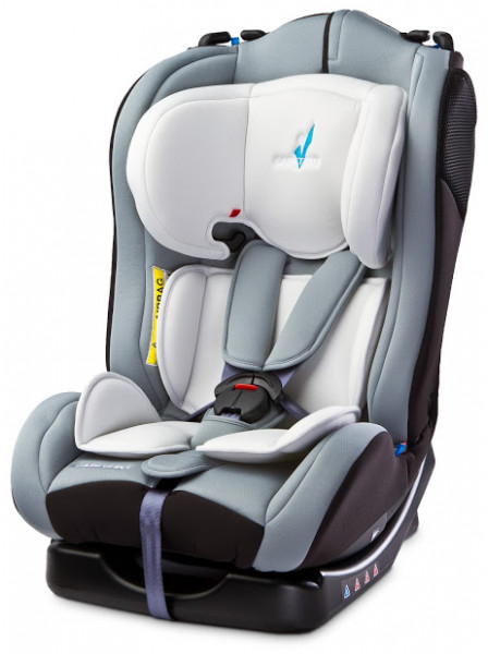 Автокресло Caretero Combo Grey