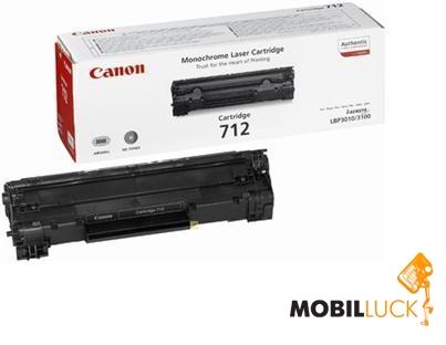 Картридж лазерный Canon 712 Black (1870B002)