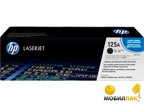 Картридж лазерный HP CB540A Black