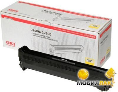 Картридж лазерный OKI C9600/9650/9800/9655, Yellow, 30000 Pages (42918105)