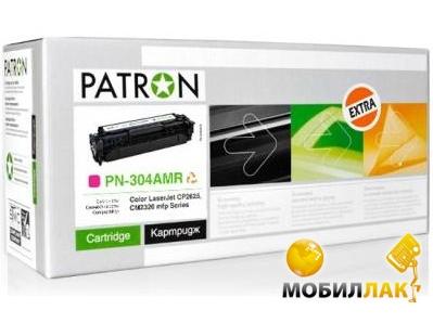 Картридж Patron для HP CLJ CC533A (PN-304AMR) Magenta Extra (CT-HP-CC533A-M-PN-R)