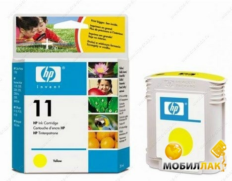 Картридж HP C4838AE No.11 DeskJet DJ2200/2250/cp1700 Yellow