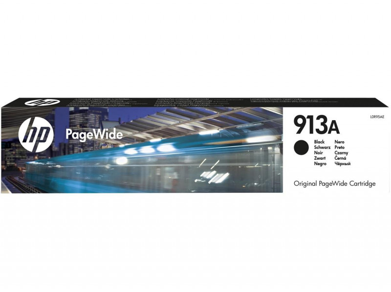 Картридж HP No.913A PageWide 352/377/452/477 Black (3500 стр) (L0R95AE)