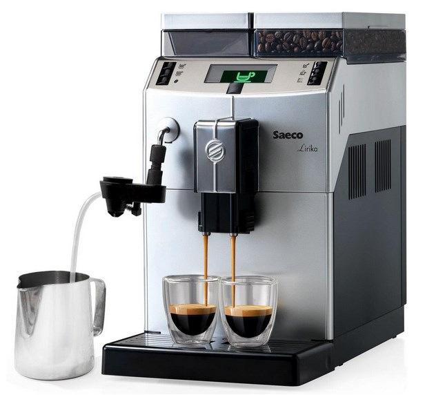 Кофемашина эспрессо Philips Saeco Lirika Plus RI 9841/01 Silver
