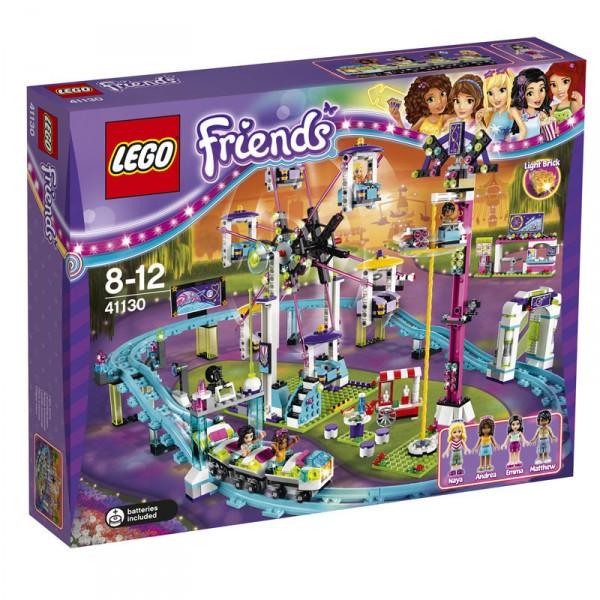 Конструктор Lego Friends Американские горки в парке развлечений (41130)