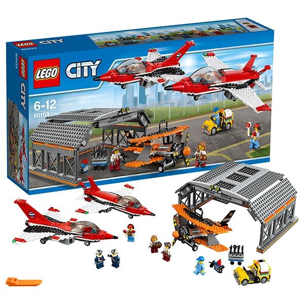 Конструктор Lego City Aerport Авиашоу (60103)