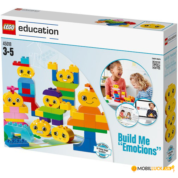 Конструктор Lego Education Build Me Emotions (45018)