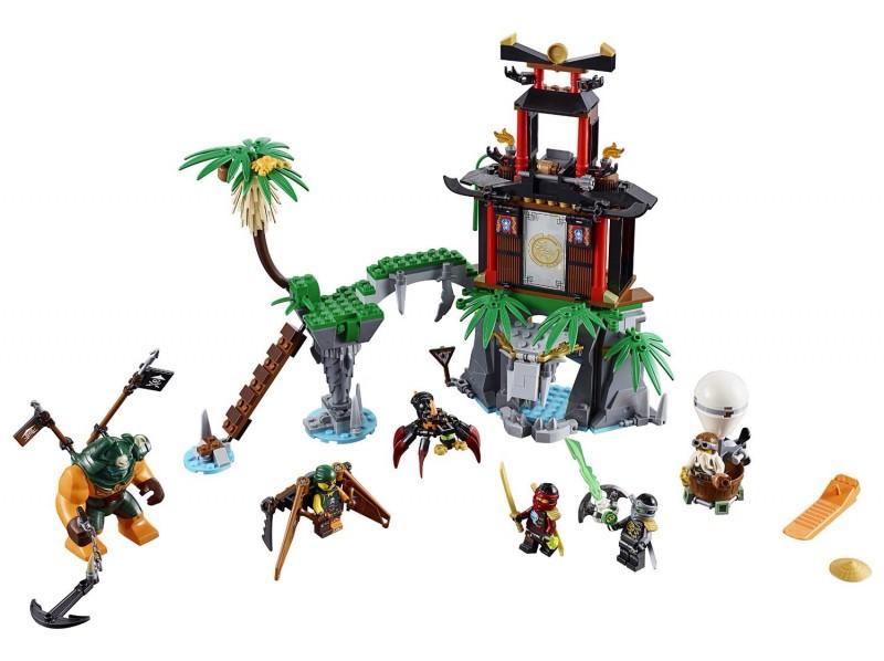 Конструктор Lego Nexo Knights Остров тигриных вдов (70604)