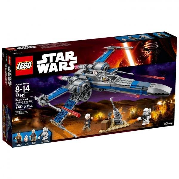 Конструктор Lego Star Wars Истребитель X-Wing Сопротивления (75149)