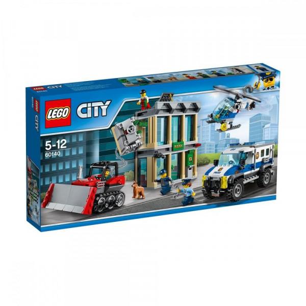 Конструктор Lego City Ограбление на бульдозере (60140)