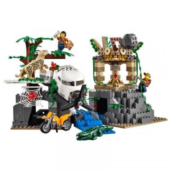 Конструктор Lego City База исследователей джунглей (60161)