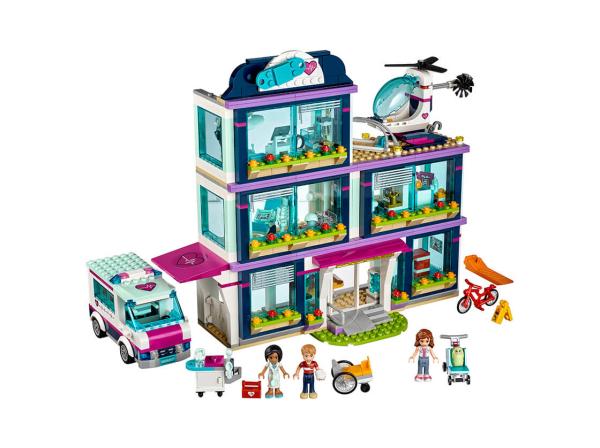 Конструктор Lego Friends Клиника Хартлейк-Сити (41318)