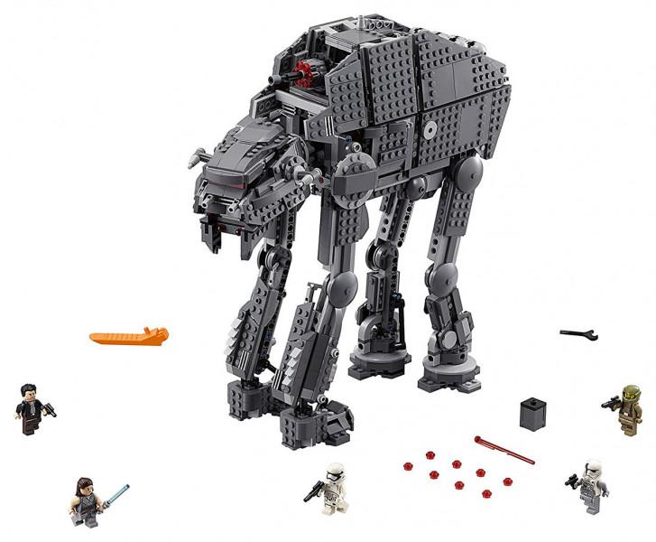 Конструктор Lego Star Wars Тяжелый штурмовой шагоход Первого Ордена (75189)