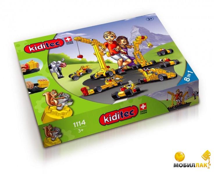 Конструктор Kiditec детский Multiset Кран (1114)