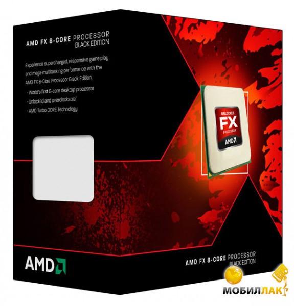 Процессор AMD FX-8320 3.5GHz 8MB (FD8320FRHKBOX) sAM3+ Box