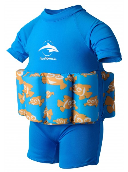 Купальник-поплавок Konfidence Floatsuits Clownfish 1-2 года (FS03-B-02)