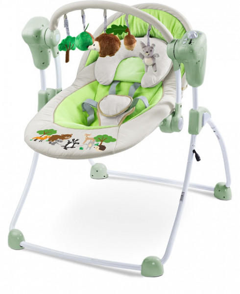 Кресло-качалка Caretero Forest Grey
