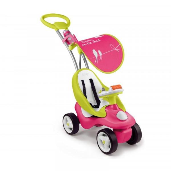 Машинка-каталка Smoby Bubble Go Rouge Розовая (720102)