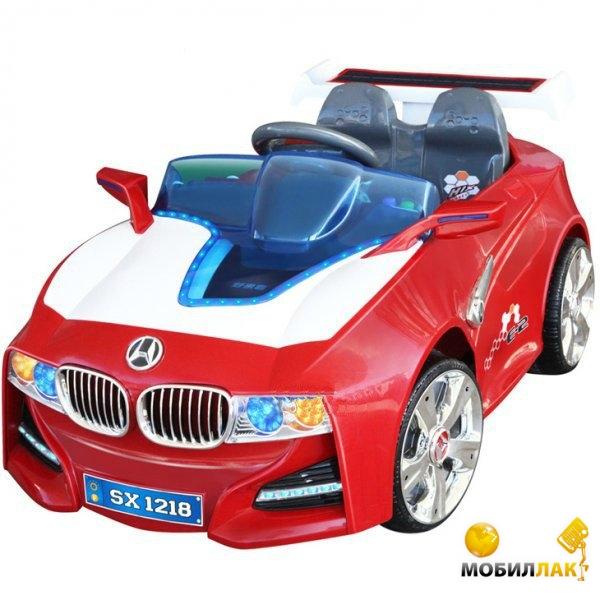 Электромобиль Bambi M0668 с солнечной батареей Red White
