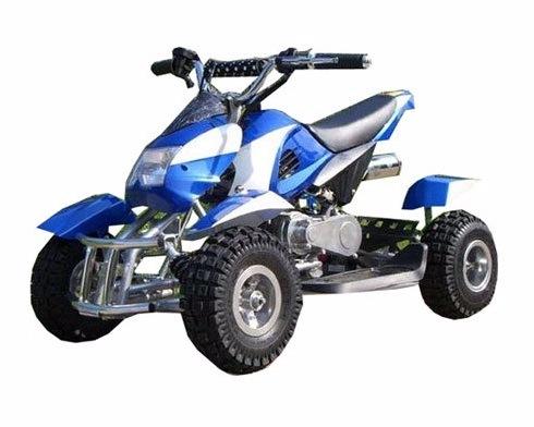 Квадроцикл Profi HB-6 EATV800-4-1 Бело-синий