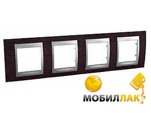Рамка Schneider Electric Top MGU66.008.0M3 4-я венге (10027118)