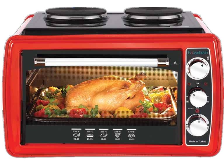 Мини-печь Housetech 11007 Red