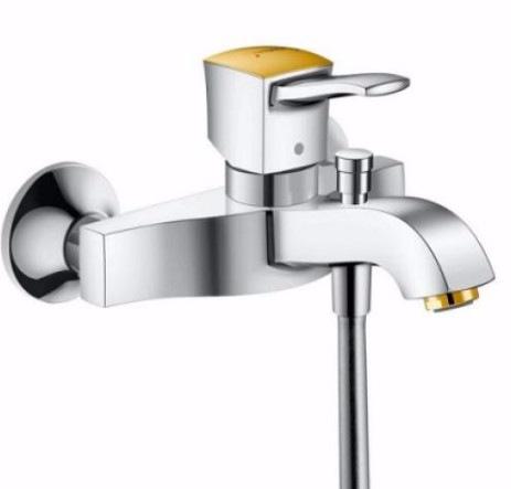 Смеситель для ванны Hansgrohe Metropol Classic (31340090) Хром/Под золото