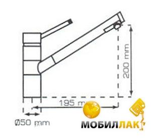 Смеситель Telma MIS57 - 50 sahara