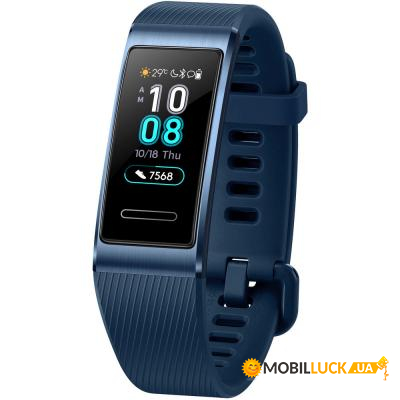 Фитнес браслет Huawei Band 3 Pro Space Blue (55023009)