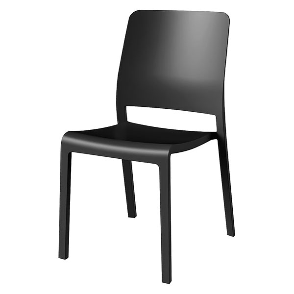 Стул пластиковый Evolutif Charlotte Deco Chair Серый