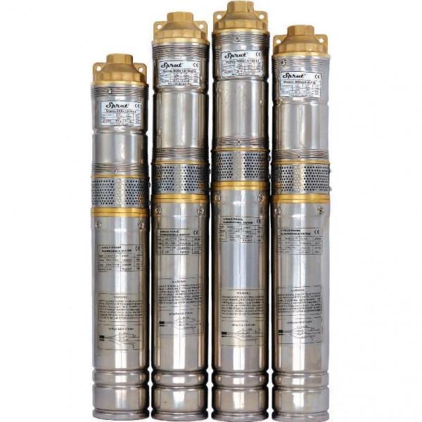 Скважинный насос Sprut QGDа 1.8-50-0.5 kW Без пульта