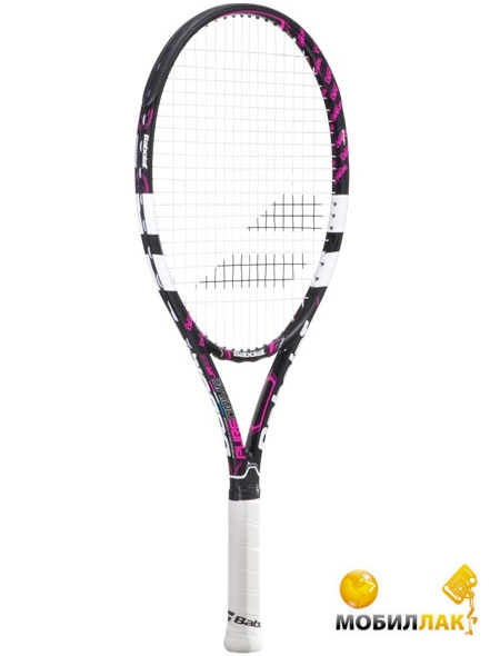 Ракетка Babolat Pure Drive junior 23 black/pink Gr000 2015 year