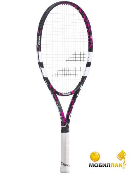 Ракетка Babolat Pure Drive junior 25 black/pink Gr00 2015 year