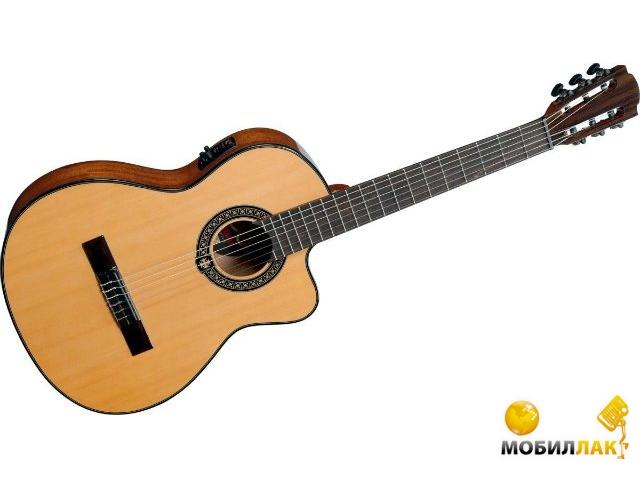 Классическая гитара со звукоснимателем Lag Occitania OC66CE