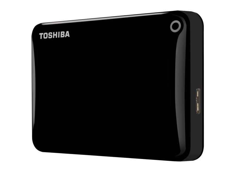 Внешний жесткий диск 3.0TB Toshiba Canvio Connect II Black (HDTC830EK3CA)
