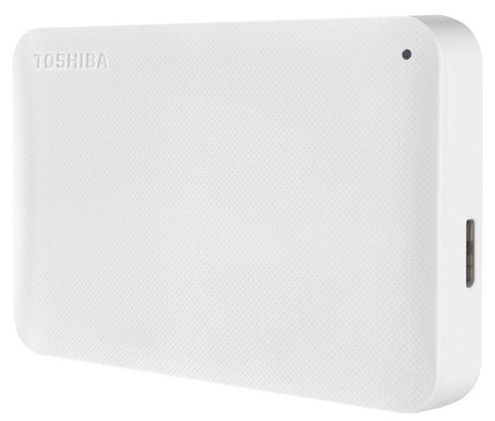 Жесткий диск Toshiba 2.5, 1Tb Canvio Ready White (HDTP210EW3AA)