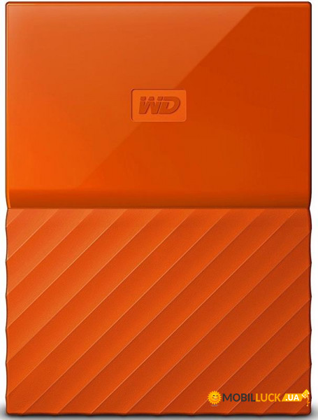 Жесткий диск Western Digital HDD ext 2.5 USB 2.0TB My Passport Orange (WDBS4B0020BOR-WESN)