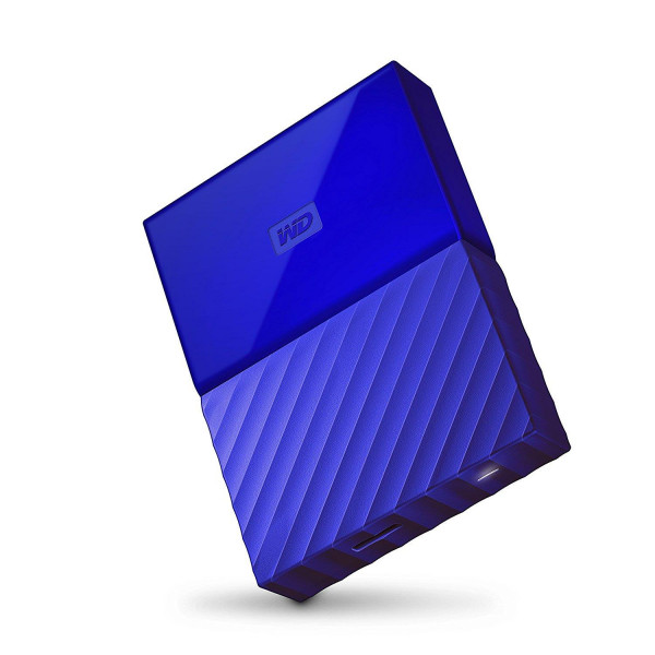 Жесткий диск Western Digital My Passport 2.5 USB 3.0 1TB Blue (WDBYNN0010BBL-WESN)