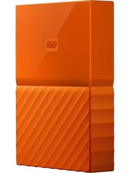 Жесткий диск Western Digital My Passport 2.5 USB 3.0 4TB Orange (WDBYFT0040BOR-WESN)