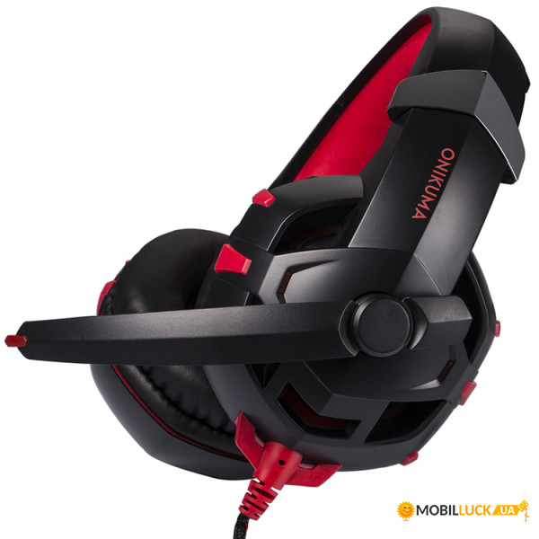 Наушники Onikuma K2 Black/Red (K2-RD) (K2-RD)