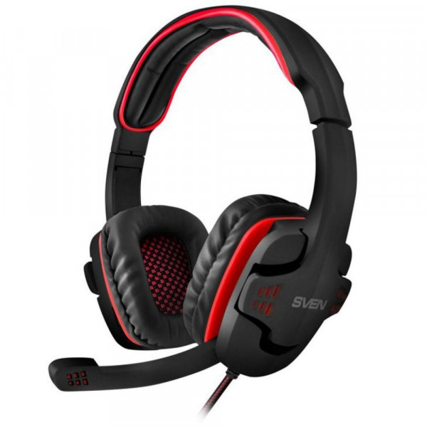 Наушники Sven AP-G855MV Black-Red
